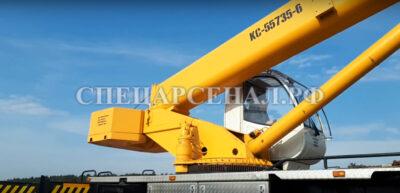 автокран ивановец 35 тонн