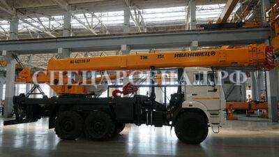 автокран кс-45717-3р air технические характеристики