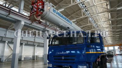 автокран 25 тонн на базе камаз
