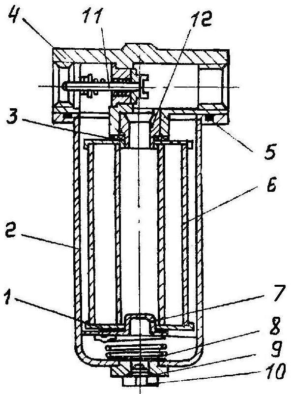 фильтр линейный автогудронатора