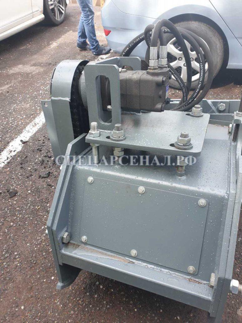 Фреза дорожная FD-600 на мини-погрузчик