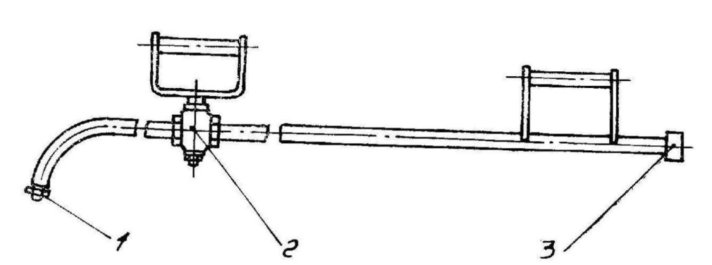 Распределитель битума ручной