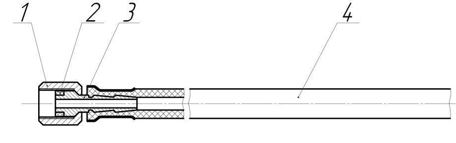 Шланг переносной горелки
