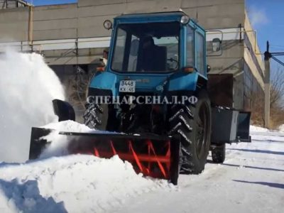 Снегоочиститель МТЗ-82
