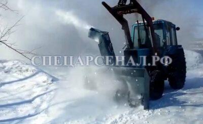 роторный снегоочиститель на мтз