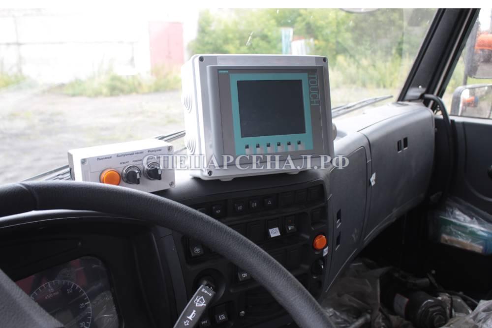 электрооборудование автогудронатора