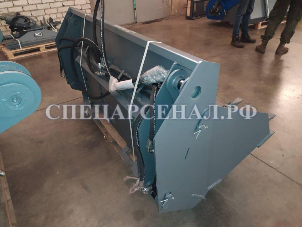 Ковш двухчелюстной КЧМ-1,9 для минипогрузчика