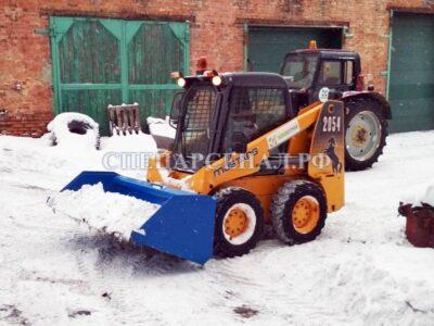 снеговой ковш для минипогрузчика