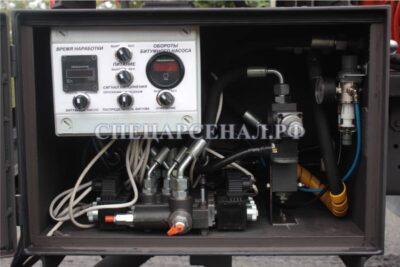 шкаф управления автогудронатор