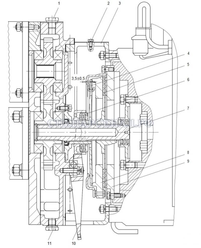 сцепление мксм-800